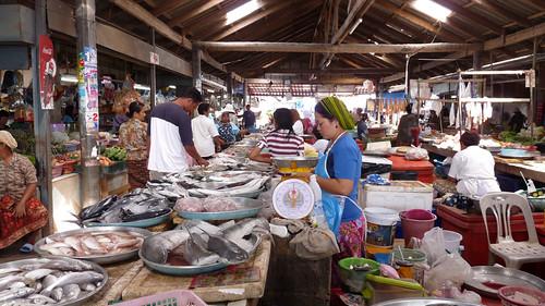 Koh Samui Fresh Market Huathanon コサムイ フアタノンの市場2