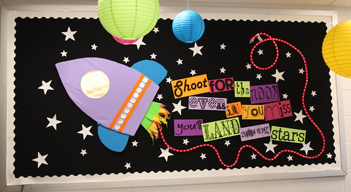 "Bulletin Board ""Shoot for the Moon..."""