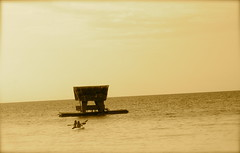 Beyond the hut is horizon (paulovesred22) Tags: kayak hut bohol panglao