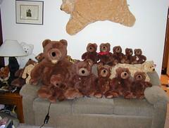 Spanky By Gund the Best Teddy Bear EVER made! Here is all 7 sizes (Spanky_bear) Tags: bear stuffed teddy bears teddybear stuffedanimal spanky gund stuffedbear spankybear
