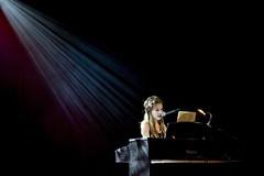 piano (Alex Worren) Tags: light girl concert singing smoke piano negativespace