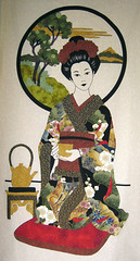 Tea Ceremony Geisha - Work in Progress 1