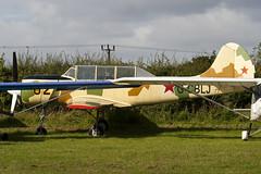 G-CBLJ - 888615 - Private - Bacau Yak-52 - Little Gransden - 090830 - Steven Gray - IMG_0647