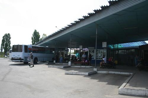 Terminal de Autocarros Gare Sud Vest em Chisinau Moldávia