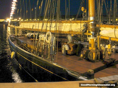 Bluenose II Gloucester At Dawn