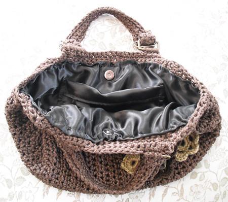 Bolsa Fat Bottom Bag de Crochê por você.
