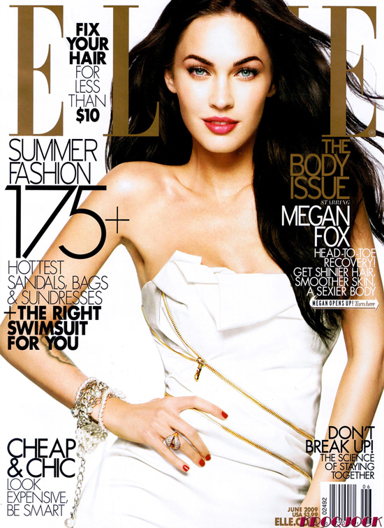 Megan Fox – Elle June 2009 - beautiful girls