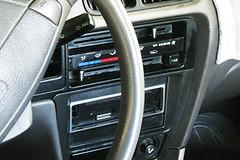 Who Done It? 09-15-09 (Brighteyedblessings) Tags: car stereo steeringwheel