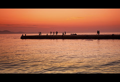 People Just Love To Talk (avalonblues) Tags: sunset people canon croatia ndg leefilters canon5dmarkii