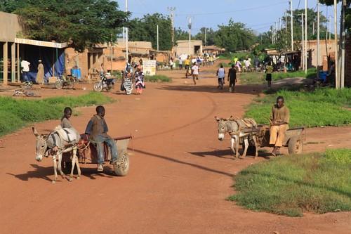 Houndé town scenes...