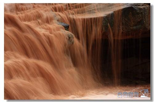 黄河壶口瀑布美景