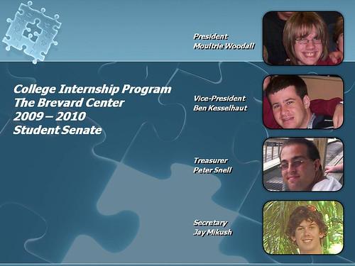 Student Senate 2009/2010