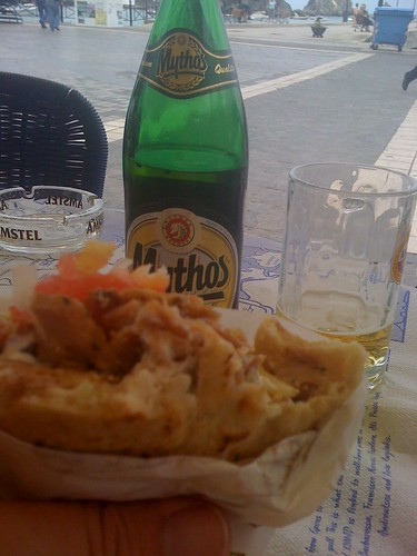 Mythos and Gyros Pitta