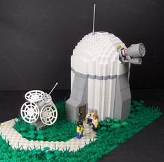 Almagest Mapping Telescope/Center (Ludgonious) Tags: liu view lego space optical observatory telescope dome astronomy sensor boletus scfi