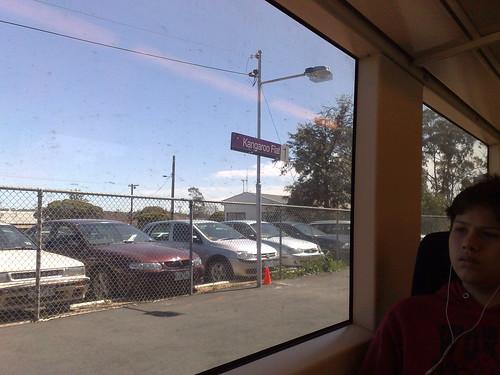 Train at Kangaroo Flat