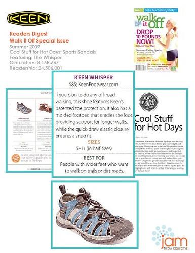 Reader Digest - Walk It Off