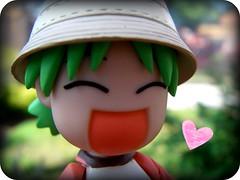 A Happy Little Girl (Yoshi Gizmo) Tags: girl toy japanese doll figure collectable yotsuba revoltech summervacationset yoshigizmo