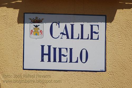 Placas - Calle Hielo