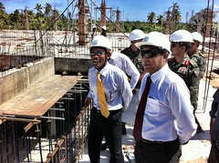 Tour of the saarc convention ctr site (Presidency Maldives) Tags: