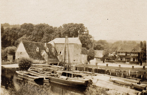 Streatley Mill, Goring-upon-Thames, 1924.
