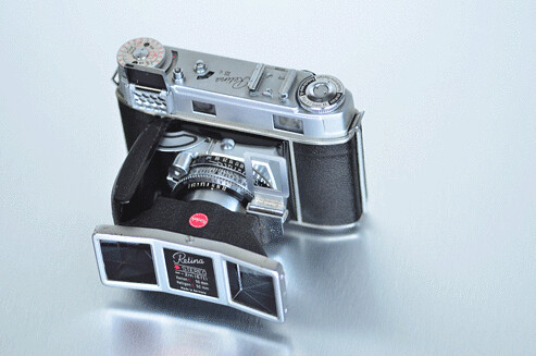 kodak retina 3c w stereo attachment by phollectormo