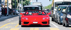Ferrari 360 Spider (Future Photography International) Tags: red horse car rouge switzerland spider photo hp italian nikon italia power suisse geneva d 8 360 s ferrari porsche 200 28 af gt nikkor modena ge 80 genève lamborghini f28 supercar v8 ch 80200mm 80200 80mm 200mm afd d80 hypercar worldcars