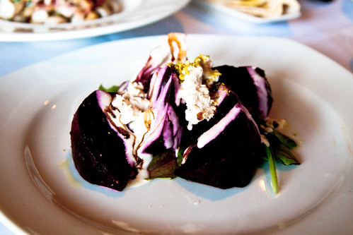 Roasted Beets at Tomi-Kro