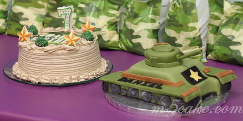 Military Tank Cake - 4