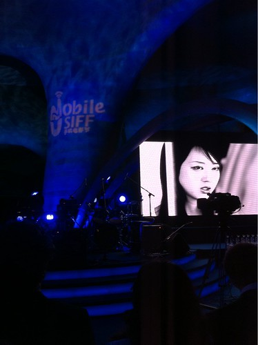 Exhalation trailer playing at Mobile SIFF award ceremony 3