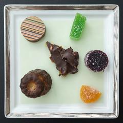 Petit Fours @ Robuchon au Dme (yusheng) Tags: travel dessert foodporn squareformat macau michelin petitfour jolrobuchon michelin3stars