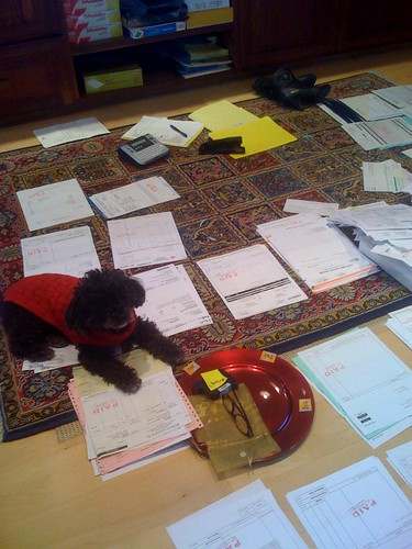 Cosette Helps with year-end filing