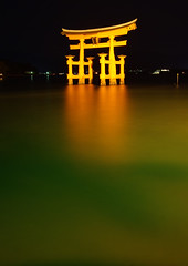 Miyajima Torii Worldheritage (h orihashi) Tags: japan night landscape gate shrine searchthebest pentax hiroshima miyajima  torii soe  globalvillage bestofflickr worldheritage nationalgeographic itsukushima aphoto    blueribbonwinner   bouncingball flickrsbest bej beautifulcapture mywinners abigfave k10d pentaxk10d platinumphoto impressedbeauty aplusphoto flickrhearts ultimateshot amomentarylapseofreason flickrenvy crystalaward diamondclassphotographer flickrdiamond superhearts lunarvillage citrit excellentphotographerawards exemplaryshots heartawards theunforgettablepictures platinumheartaward wonderfulphotosfortheworld betterthangood justpentax theperfectphotographer goldstaraward arealgem hatsukaichishi discoveryphotos damniwishidtakenthat flickrballoonaward photographersgonewild kunstplatzlinternational mallmixstaraward flickrsbestseriousphotographers diamondphotographersclub