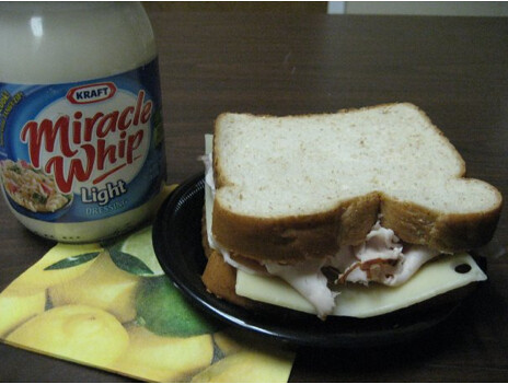 Lori Maykowski's Brownbag Turkey Sandwich