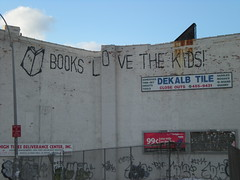 books love the kids (privacypolicy) Tags: nyc newyork brooklyn graffiti reader graf books read more booker