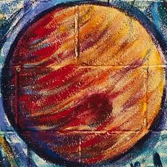jupiter (theilr) Tags: mural paint squaredcircle solarsystem cinderblockwall