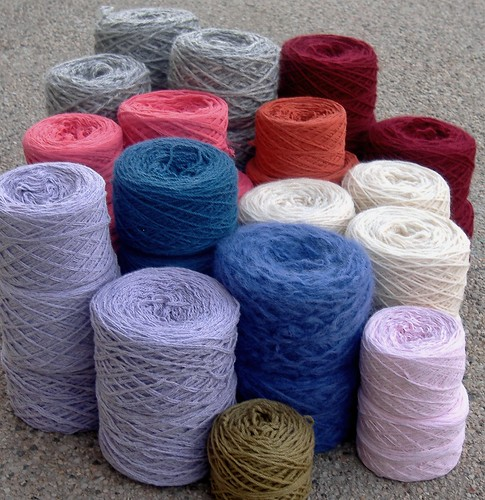 reclaimed yarn - january
