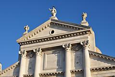 Eglise du redempteur (anarchitecte) Tags: venice italy church architecture italia andrea architektur venise venedig renaissance eglise italie palladio d90 redentore redempteur nikond90