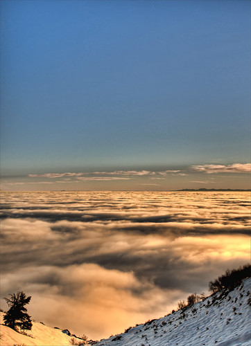 Above the Clouds 2 - HDR