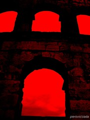POLA - PIETAS JULIA (pierovis'ciada) Tags: roma julia stones monumento arena pietre pola exodus pula istria istra vespasiano istrien exilio pietas esodo istriani istrians