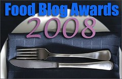 Vote in the 2008 Food Blog Awards