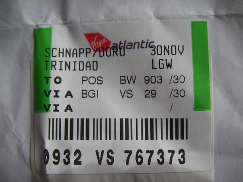 Impossible Baggage Label