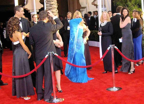 Drama on the red carpet