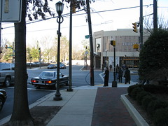 2009 01 23 - 0873 - Friendship Village - MD355 at S Park Ave - EfSW (thisisbossi) Tags: usa us md unitedstates maryland crosswalks trafficsignals friendshipvillage pedestriansignals southparkavenue md355