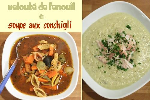 Duo de soupes nourrissantes