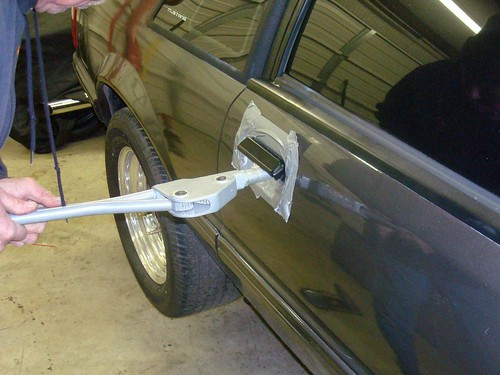 Fox Body Mustang Door Handle Install