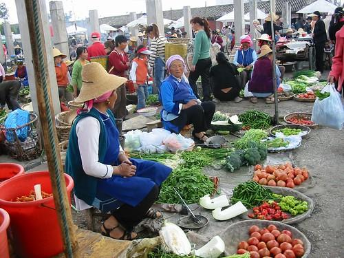 Kleurrijke markt