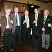 Michael Conroy, Brian Dean, Harry Steele, Graham Crothers, Richard Kane, John Kane and Jim Dornan at the Ulster Reform Club.