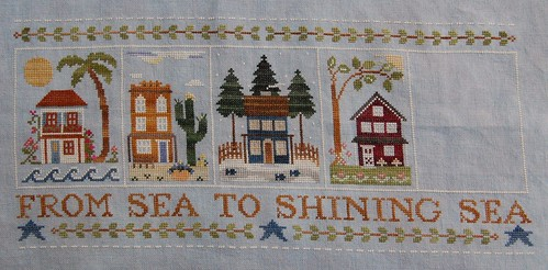 Sea to Shining Sea - almost finished!