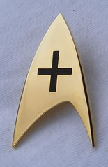 Star Trek Nurse / Medical Pin