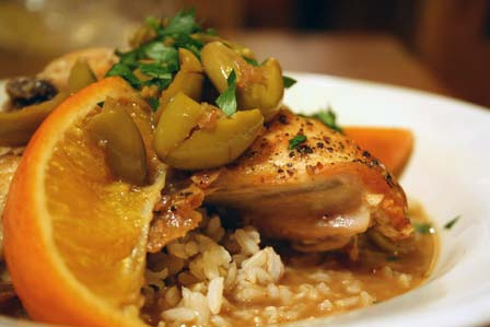 Chicken with Green Olives, Orange, and Sherry – The ...